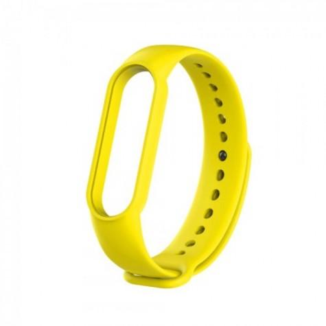 Λουράκι για τα Xiaomi Mi Band 3, 4 & 5 σε κίτρινο χρώμα