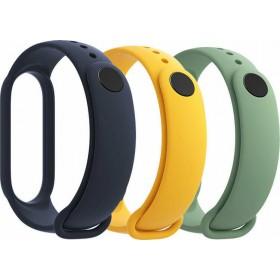 Λουράκια για τα Xiaomi Mi Band 5 σε τρία χρώματα
