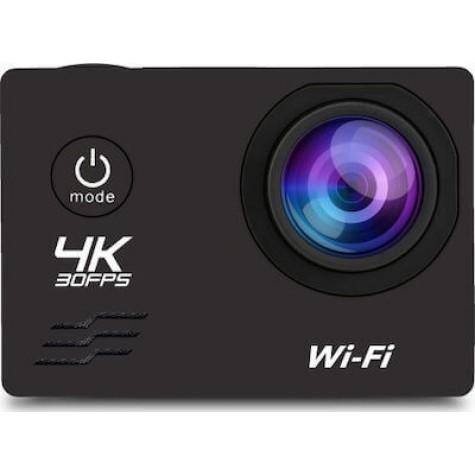 Senso Sports Action Camera AT-30S 4K Ultra HD + Αδιάβροχη Θήκη