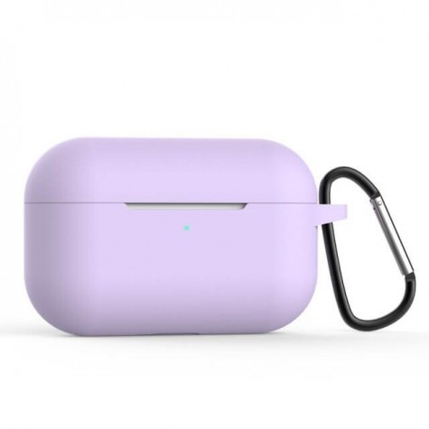 AirPods Pro Naked Silicone Case Suit Purple