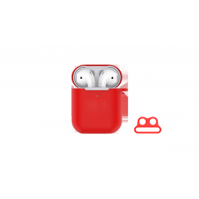 AirPods Silicone Case Red