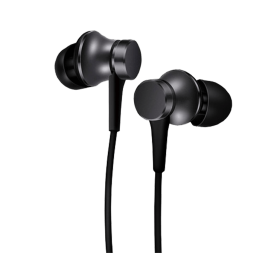 Handsfree Stereo Xiaomi Mi In-Ear Headphones Basic 3.5mm Black