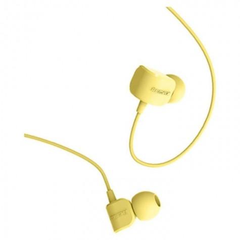 Ακουστικά Remax με καλώδιο RM-502 Κίτρινο