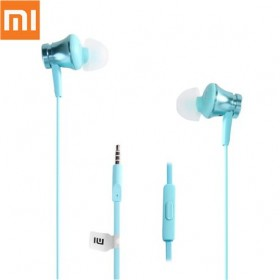 Handsfree Stereo Xiaomi Mi In-Ear Headphones Basic 3.5mm Blue