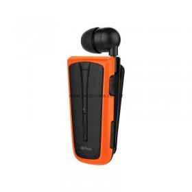 Στερεοφωνικό Ακουστικό Bluetooth iPro RH219s Retractable με Δόνηση Μαύρο - Πορτοκαλί