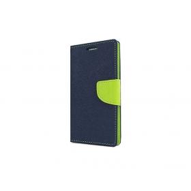 Huawei Y5 Fancy Book Case Blue Lime