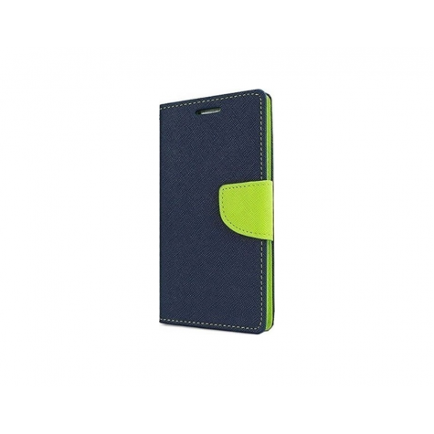 Huawei Y5 Fancy Book Case Blue Lime