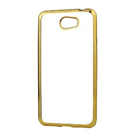 TPU Case Huawei Y5 II with gold frame