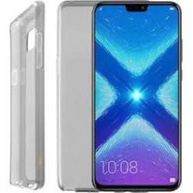 Γκρι Θήκη Σιλικόνης Huawei Y6 2018 / Honor 7A
