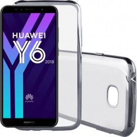 Electro Plating Θήκη Σιλικόνης Huawei Y6 2018 / Honor 7A