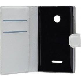 Θήκη Book Lumia 435/532 Λευκή