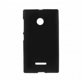 Θήκη Σιλικόνης Lumia 435/532 Μαύρη