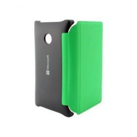 Θήκη Book Microsoft Lumia 435/532 Μαύρο-Πράσινο