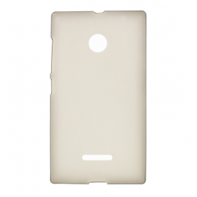 Θήκη Σιλικόνης Lumia 435/532 Λευκή Ματ