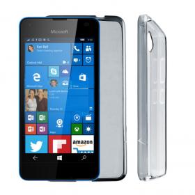 Θήκη Σιλικόνης Microsoft - Lumia 550 Γκρι