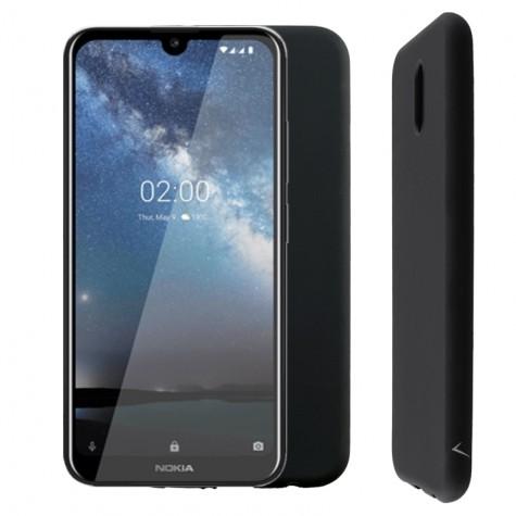 Μαύρη Θήκη Σιλικόνης Nokia 2.2