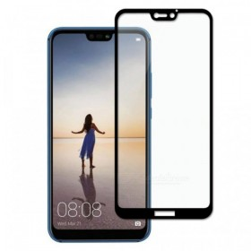 Huawei P20 Lite 5,84'' Black Fullface Tempered Glass 9H Προστασία Οθόνης