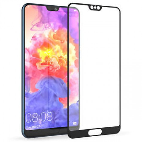 Huawei P20 Pro 6,1'' Black Fullface Tempered Glass 9H Προστασία Οθόνης