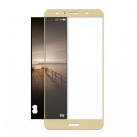 "Huawei P9 Lite 2017/P8 Lite 2017 Honor 8 Lite/Nova Lite 5,2"" Gold Fullface Tempered Glass 9H Προστασία Οθόνης"