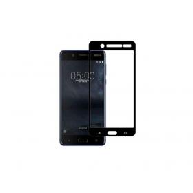 Nokia 5 5,2'' Fullface Black Tempered Glass 9H Προστασία Οθόνης