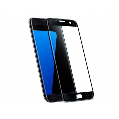 Samsung Galaxy S7 Black Fullface Tempered Glass 9H Προστασία Οθόνης