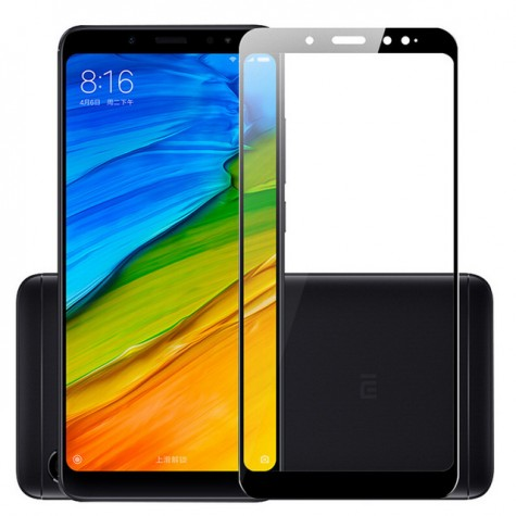 Xiaomi Redmi 6A/6 Black Fullface Tempered Glass 9H Προστασία Οθόνης